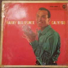 Discos de vinilo: HARRY BELAFONTE WITH TONY SCOTT & HIS ORCHESTRA (CAME BACK LIZA - THE JACK-ASS SONG - TROUBLES - MAN. Lote 9591553