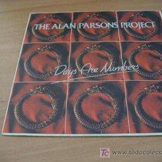 Discos de vinilo: ALAN PARSONS PROJECT ( DAYS ARE NUMBERS ) SINGLE ESPAÑA (EPI01). Lote 9611299