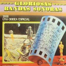 Disques de vinyle: BSO 2001 UNA ODISEA ESPACIAL (GLORIOSAS BANDAS SONORAS) LP 1972 SPAIN. Lote 9594492
