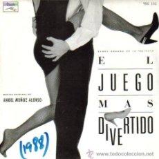Discos de vinilo: BSO EL JUEGO MAS DIVERTIDO SINGLE 1988 PROMOCIONAL. Lote 9594952
