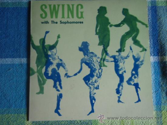 SWING WITH THE SOPHOMORES (COOL, COOL BABY - IS THERE A SOMEONE FOR ME - LINDA - OCEAN BLUE -...) EP (Música - Discos de Vinilo - EPs - Orquestas)