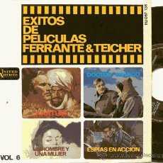 Discos de vinilo: EP 45 RPM / FERRANTE & TEICHER / MARTUM // EDITADO POR HISPAVOX . Lote 19427158