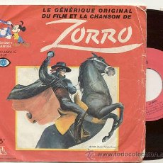 Discos de vinilo: SINGLE 45 RPM / ZORRO / / EDITADO POR ADES . Lote 26002736