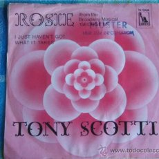 Discos de vinilo: TONY SCOTTI (ROSE - I JUST HAVEN'T GOT HAT IT TAKES) FROM 'THE BROADWAY MUSICAL' SINGLE45 GERMANY. Lote 9622597