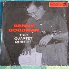 Vinyl records - BENNY GOODMAN vocal & HIS ORCHESTRA (SOMETIMES I'M HAPPY - GOODY GOODY) USA SINGLE45 CAPITOL - 9624130