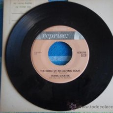 Discos de vinilo: FRANK SINATRA WITH ORCHESTRA BY BILLY MAY ( GRANADA - THE CURSE OF AN ACHING HEART ) SINGLE45 SWEDEN. Lote 9627783