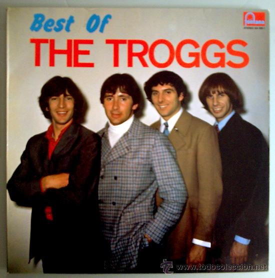 THE TROGGS LP BEST OF THE TROGGS ESP 1986 FONTANA MOD PSYCH BEAT (Música - Discos - LP Vinilo - Pop - Rock Extranjero de los 50 y 60)