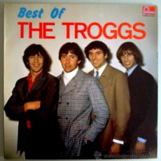 Discos de vinilo: THE TROGGS LP BEST OF THE TROGGS ESP 1986 FONTANA MOD PSYCH BEAT. Lote 27633208