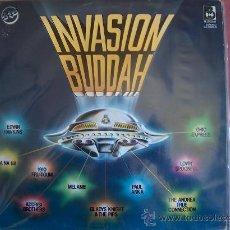 Discos de vinilo: LP - INVASION BUDDAH - VARIOS - DOBLE DISCO, ORIGINAL ESPAÑOL, BUDDAH RECORDS 1977. Lote 20636292