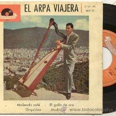 Discos de vinilo: EP 45 RPM / EL ARPA VIAJERA / MOLIENDO CAFE // EDITADO POR POLYDOR . Lote 15822523