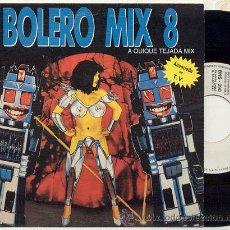 Discos de vinilo: SINGLE 45 RPM /QUIQUE TEJADA / BOLERO MIX // EDITADO POR AZUL Y NEGRO . Lote 9680701
