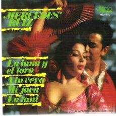 Discos de vinilo: MERCEDES RUIZ - LA LUNA Y EL TORO ***EP - EKIPO 1969. Lote 11306091