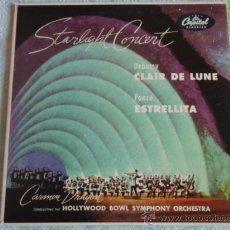 Discos de vinilo: CARMEN DRAGON CONDUCTING THE OLLYWOOD BOWL SYMPHONY OCHESTRA (CLAIR DE LUNE - ESTRELLITA). Lote 9699244