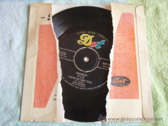 Discos de vinilo: BILLY VAUGHN & HIS ORCHESTRA (LA PALOMA - HERE IS MY LOVE - CIMARRON - YOURE MY BABY DOLL) EP45 - Foto 2 - 9699728