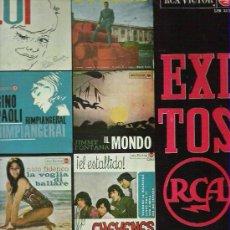 Discos de vinilo: EXITOS RCA 1965 *** LOS CHEYENES / SYLVIE VARTAN / RITA PAVONE ** RCA VICTOR 1965. Lote 17459697
