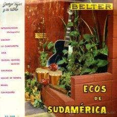 Discos de vinilo: ECOS DE SUDAMÉRICA - JORGE FEYER Y SU RITMO-LA CUMPARSITA-ANA-QUIZAS,QUIZAS-GRANADA-NOCHE DE RONDA. Lote 14185553