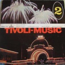 Discos de vinilo: 'TIVOLI-MUSIC' (PEPITA POLKA - HELGA MAZURKA - BRITTA POLKA - CHAMPAGNEGALOP) EP45 ODEON. Lote 9710623