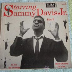 Discos de vinilo: SAMMY DAVIS JR. PART-1 (HEY THERE - GLAD TO BE UNHAPPY - AND THIS IS MY BELOVED - EASY TO LOVE) EP45. Lote 10822592