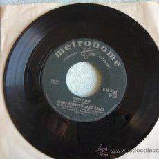 Discos de vinilo: CHRIS BARBER'S JAZZ BAND (WILD CAT BLUES - PETITE FLEUR) SINGLE45 METRONOME. Lote 9711548