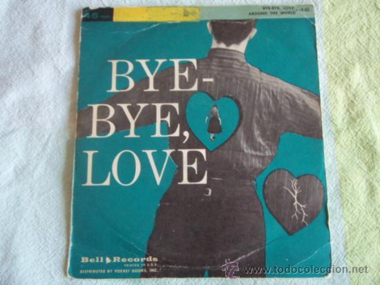 ARTIE MALVIN & JIMMY LEYDEN (BYE BYE LOVE) MICHAEL STEWART QUARTET (AROUND HE WORLD) USA SINGLE45 (Música - Discos - Singles Vinilo - Orquestas)