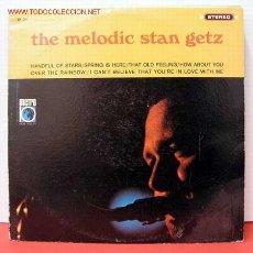Discos de vinilo: STAN GETZ ( THE MELODIC STAN GETZ ) USA/1965 LP33. Lote 1019732