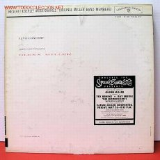 Discos de vinilo: IN A SPECTACULAR LIVE ''CONCERT RECORDING'' MUSIC MADE FAMOUS BY GLENN MILLER RE-UNITING. Lote 1019736