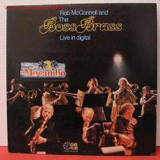 Discos de vinilo: ROB MCCONNELL AND THE BOSS BRASS ( LIVE IN DIGITAL ) LP33. Lote 1019742