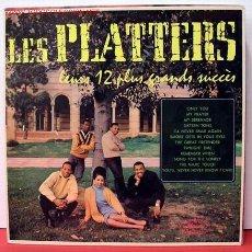 Discos de vinilo: LES PLATTERS ( LEURS 12 PLUS GRANDS SUCCÉS ) LP33. Lote 1019818