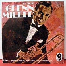 Discos de vinilo: GLENN MILLER AND HIS ORCHESTRA ( THE GREAT GLENN MILLER ) LP33 DOBLE. Lote 1025908