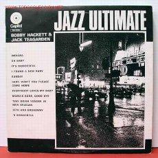Discos de vinilo: BOBBY HACKETT AND JACK TEAGARDEN ' JAZZ ULTIMATE ' 1972 LP33. Lote 1025952