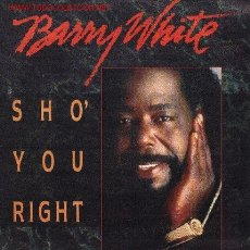 Discos de vinilo: BARRY WHITE . Lote 1027002