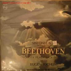 Discos de vinilo: BEETHOVEN: SINFONIA Nº3 HEROICA, EN MI BEMOL MAYOR OP.55. Lote 20452889