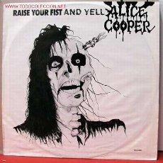 Discos de vinilo: ALICE COOPER ( RAISE YOUR FIST AND YELL ) LP33. Lote 1030982