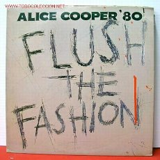 Discos de vinilo - ALICE COOPER ( FLUSH THE FASHION ) USA 1980 LP33 - 1030987