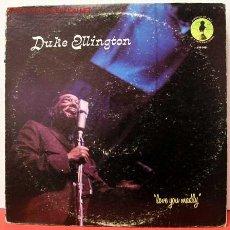 Discos de vinilo: DUKE ELLINGTON ( LOVE YOU MADLY ) LP33. Lote 1031426