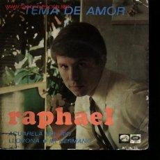 Discos de vinilo: MUSICA GOYO - EP VINILO - RAPHAEL - TEMA DE AMOR - *EE99. Lote 22388627