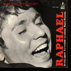 Discos de vinilo: MUSICA GOYO - EP VINILO - RAPHAEL - *EE99. Lote 282861538