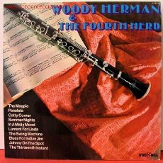 Discos de vinilo: WOODY HERMAN & THE FOURTH HERD ENGLAND - 1972 LP33. Lote 1033374