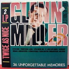 Discos de vinilo: GLENN MILLER AND HIS ORCHESTRA (A STRING OF PEARLS) GERMANY 2XLP33. Lote 1035241