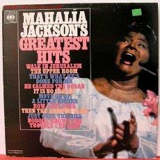 Discos de vinilo: MAHALA JACKSON ( MAHALIA JACKSON'S GREATEST HITS ) LP33. Lote 1035274