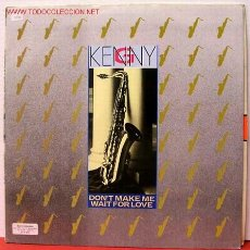 Discos de vinilo: KENNY G ( DON'T MAKE ME WAIT FOR LOVE - JAPAN - VIRGIN ISLAND ) MAXISINGLE 45RPM. Lote 8971933