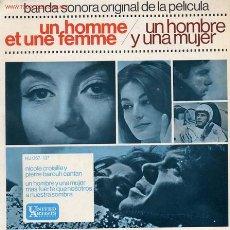 Discos de vinilo: UN HOMBRE Y UNA MUJER. Lote 1036851