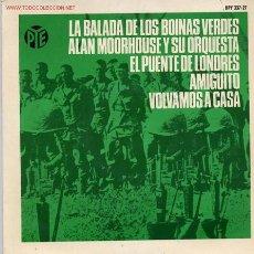 Disques de vinyle: ALAN MOORHOUSE. Lote 1036876