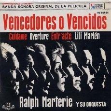 Discos de vinilo: VENCEDORES O VENCIDOS. Lote 8158076