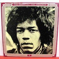 Discos de vinilo: JIMI HENDRIX ( THE ESSENTIAL JIMI HENDRIX ) LP33 DOBLE. Lote 10908667