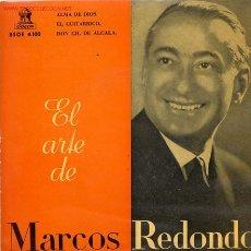 Discos de vinilo: MARCOS REDONDO. Lote 1049153