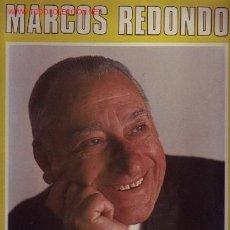 Discos de vinilo: MARCOS REDONDO DISCO LP. Lote 19449099