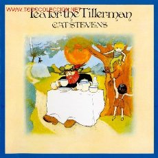 Discos de vinilo: CAT STEVENS ··· TEA FOR THE TILLERMAN - (LP 33 RPM). Lote 22887861