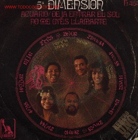 5ª DIMENSIÓN (Música - Discos - Singles Vinilo - Jazz, Jazz-Rock, Blues y R&B)