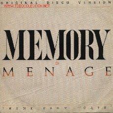 Discos de vinilo: MENAGE . Lote 1064369